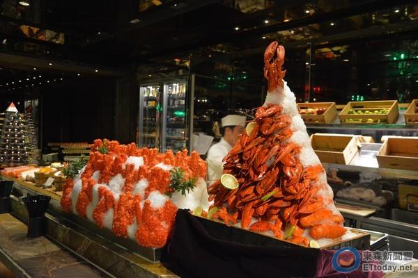 君品酒店,吃到飽,龍蝦,帝王蟹,餐廳