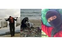 蒙面師走遍北台灣淨山淨灘 網讚:泥濘外衣是最好身教