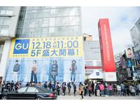 GU今南西店、桃園站前2店開幕 獨家限定大衣折扣500元