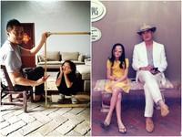 李嫣根本就是小王菲! 和李亞鵬合照「筷子腿」超吸睛