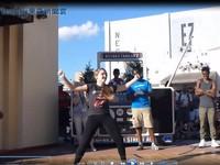 街舞接力觀眾上台 個個都有兩把刷子