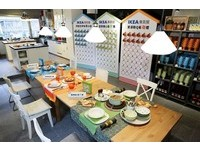 運用藍、綠、橘 佈置總統大選集氣餐桌