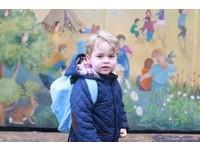 英喬治小王子第一天上學 皇室臉書分享萌照