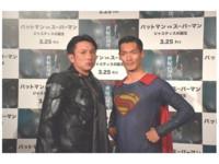川崎宗則扮蝙蝠俠 出席電影宣傳活動