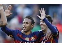 梅西10個月來首戴帽 巴薩5虎入選歐足總最佳11人