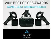真VR裝置大受好評!HTC Vive 橫掃歐美媒體12項大獎
