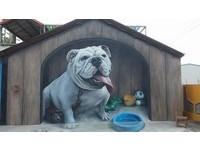 1層樓高的看門狗、擬真候機室 校園3D彩繪總整理!