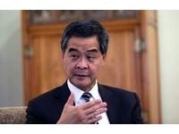 梁振英:少數人鼓吹港獨 政治經濟後果全港承擔