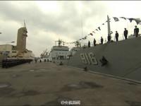 配屬東海艦隊 大型坦克登陸艦天目山艦入列