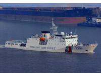 日本海上保安廳:陸4海警船本週第2次駛近釣魚台