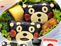 熊本熊造型飯糰 免手捏料理省時正流行!