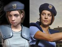 這cosplay太完美了! 原來惡靈古堡Jill本尊就是她