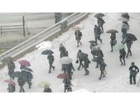 赴日旅客注意!日本爆雪 東京市中心積雪深達10公分