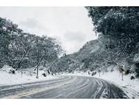為了拍陽明山絕美雪景 謝宏奕:凌晨4點卡位躲暴風雪