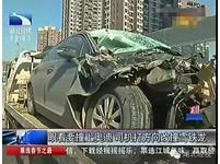 「奧迪太貴撞不起」 司機追撞瞬間轉向雪鐵龍