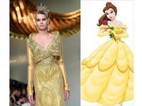 迪士尼公主穿訂製服!貝兒公主變身武則天?