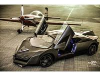 卡達自製超跑 既像變型金剛又像蝙蝠車