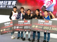 PS4《NBA2K16》亞洲盃總決賽 兩菲律賓玩家爭冠亞軍