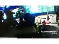 喝到爛醉!高雄舞廳外鬧事 酒客還把警車當友人接送車