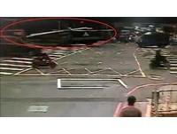 酒駕未保持安全車距急剎 貨車鋼條未綁牢激射毀前車