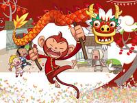 「猴」立旺! 遊戲橘子端、手遊祭出寒假新春慶祝活動