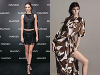 平價時尚市場白熱化 豐臀金名模妹露腿為MANGO助陣