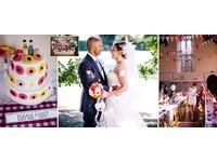 英準新娘DIY特色婚禮省48萬 連3層的結婚蛋糕也靠自己