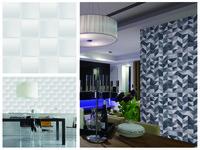 「壁紙工場」網路客製化超夯 牆面呈現「摺紙」立體感