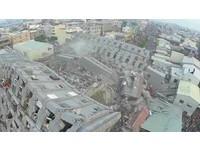 救援台南/新北市派特搜人員104人、17台大型救災機具