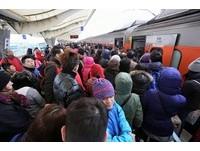 高鐵又停駛! 台鐵緊急增停、加開列車疏運旅客
