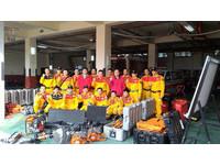 南台6.4大地震 彰化消防局派20人特搜隊前往台南支援