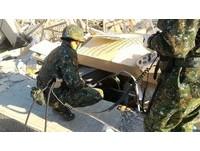 影/搶救56小時! 陸軍3工兵群持續投入維冠大樓搜救