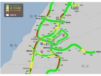 北、中部一片黃橘紅!下午國道車潮湧現 雪隧依然塞爆