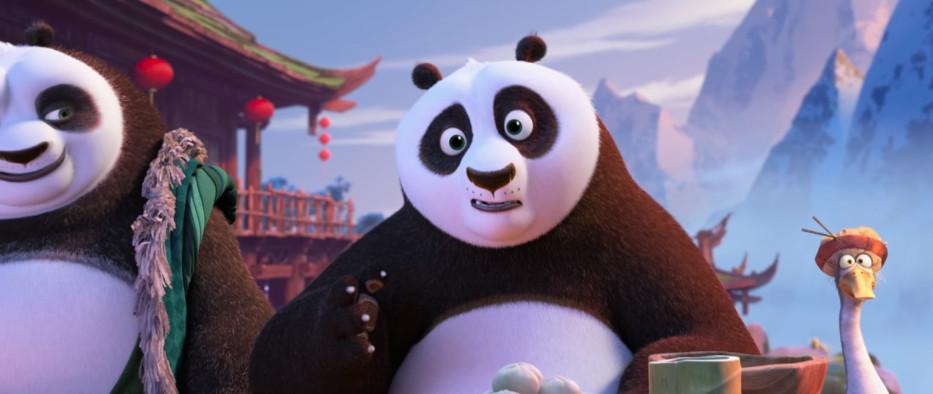 梦工厂动画 功夫熊猫3 官方一口气公开4段电影片段高清图片
