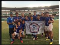 台灣橄欖球代表隊 亞洲七人制橄欖球巡迴賽奪冠