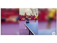 世桌團體賽/7歲桌球神童 想成土庫曼的張繼科