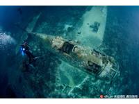二戰期間遭擊落 「地獄貓」戰鬥機殘骸深埋南太平洋