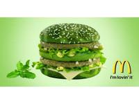 網傳美國麥當勞要推「綠到底」大麥克?原來是惡搞反諷