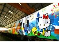 Kitty列車挨批「不給台漫畫家機會」 台鐵:蕭青陽曾彩繪