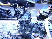 機車自燃燒到剩骨架 廠商不認有錯也不願賠償