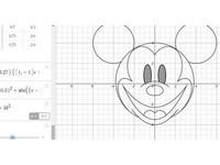 米奇秒變哆啦A夢!日網友妙用超複雜數學公式做動畫