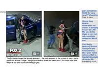爆乳短裙妹化身「極道之女」 從內褲掏槍射殺男
