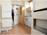 英國迷你公寓 2.4坪要價台幣425萬元
