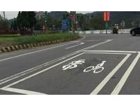 機車停等區增自行車標誌 鐵馬族:危險,不敢停