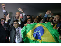 巴西總統羅賽芙要下台了 38:27通過彈劾報告