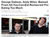 2男各吞5碗熱炒 被罵「豬」趕出吃到飽餐廳