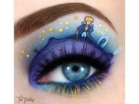 絕美「童話故事」眼影藝術 小王子B612星球原來是...