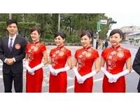 旗袍裝掰掰!蔡英文就職 金釵將正名「禮賓接待人員」