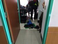 海院大三男生疑被女友甩 宿舍廁所燒炭幸獲救