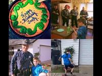 生日趴完全沒人來!5警登門幫他慶生 10歲男童感動哭了